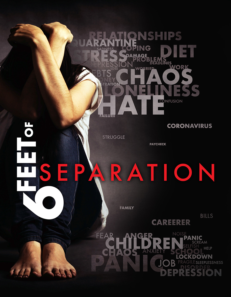 Director Shawnda Christiansen is trying to tell the story of the coronavirus pandemic with their new documentary 'Six Feet of Separation'.