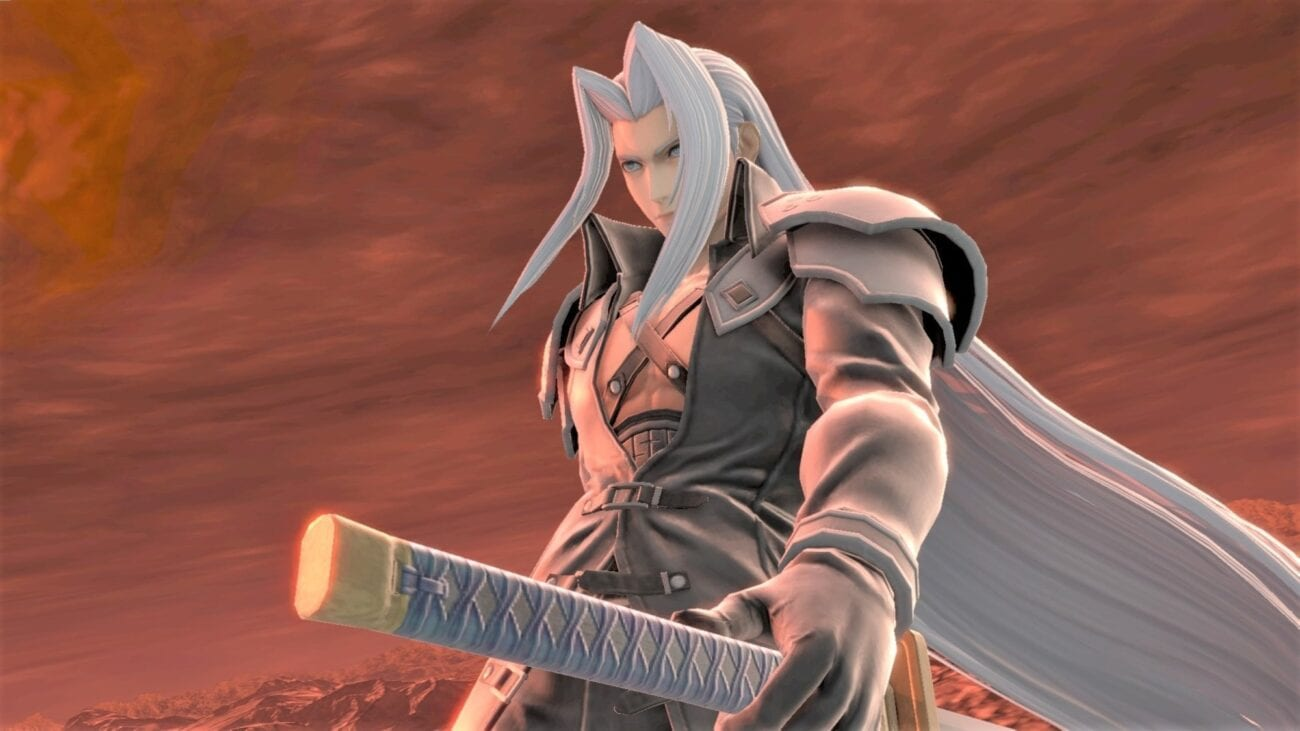 Attention gamers! Super Smash Bros. Ultimate welcomes Sephiroth to the DLC world on December 23. Get ready to challenge the Masamune blade!