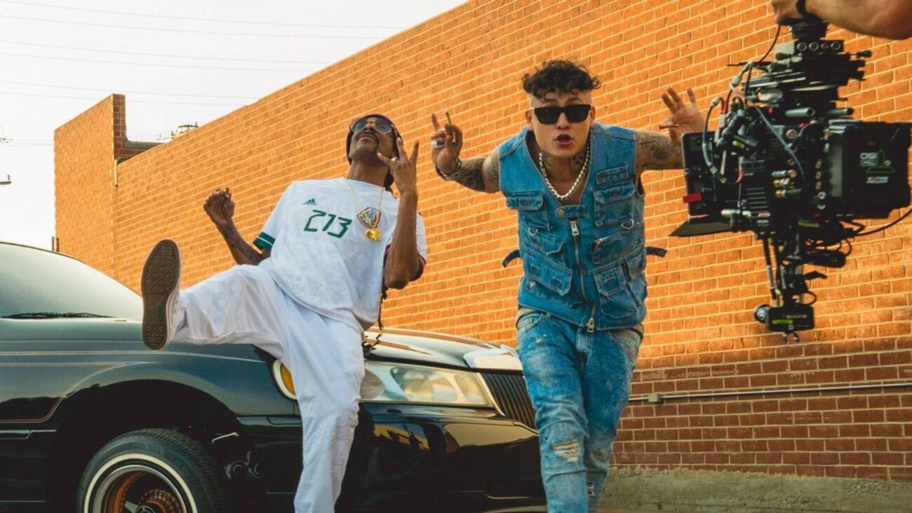 ¿Ya escuchaste la canción de Alemán con su tío Snoop Dogg? Checa todo sobre el último éxito de estos exponentes del rap.