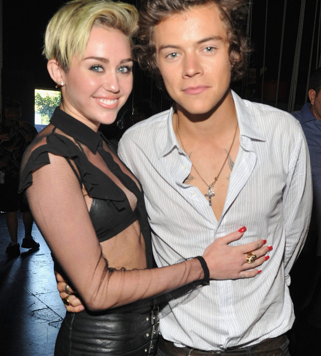 Are we about to witness the biggest celebrity couple? Find out why everyone thinks Miley Cyrus is falling for Harry Styles.