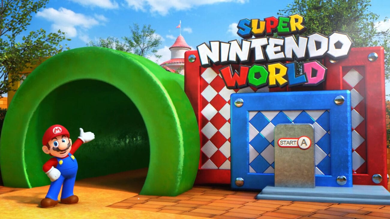 Relive some childhood fantasies and discover what's happening with the U.S. version of Super Nintendo World.