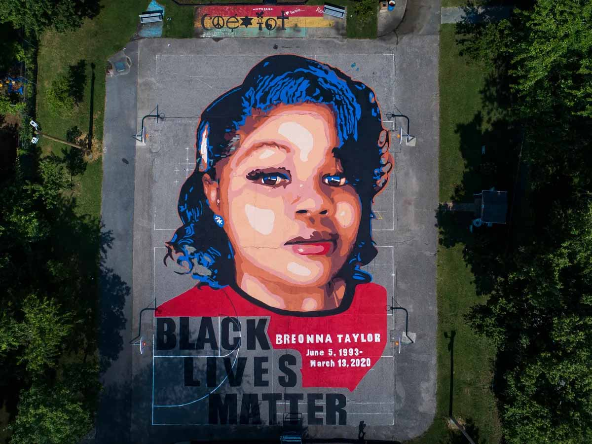 Breonna Taylor Ceramic Statue Vandalized In Oakland, CA