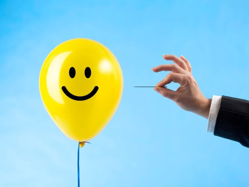 """Are you tired of being told to be positive during the global pandemic? Find out about all the reasons why """"toxic positivity"""" might be making you feel negative."""