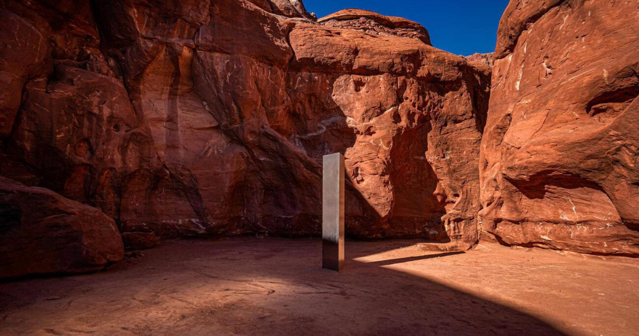 The news keeps reporting that the Utah monolith keeps disappearing and reappearing. Could it really be the work of a UFO?