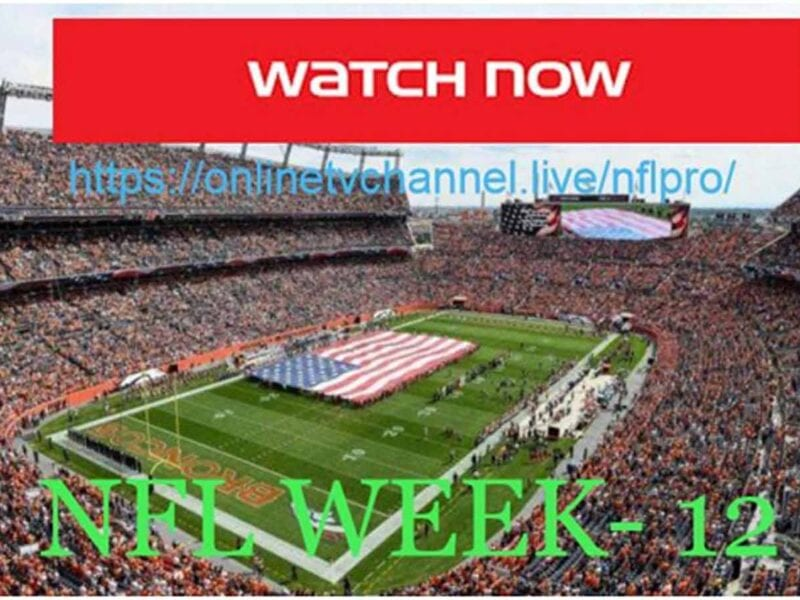 Don't miss the Ravens vs Steelers NFL game! Here are the best live stream options for all of week 12.