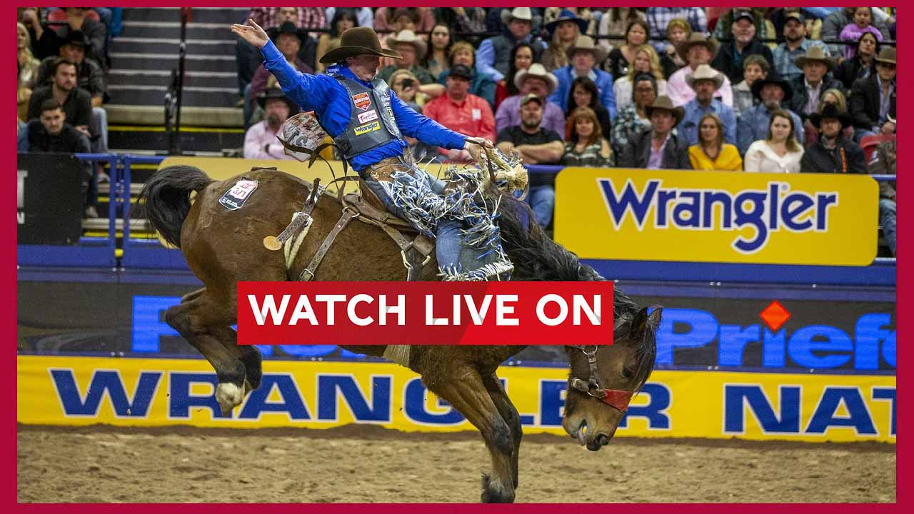 NFR is giving you rodeo events live for the next 9 days. Here's where to tune into NFR 2020 live streams.