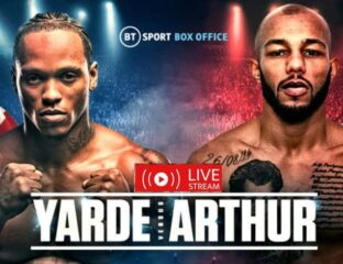 Check out Yarde and Arthur facing off tonight by watching these boxing live streams
