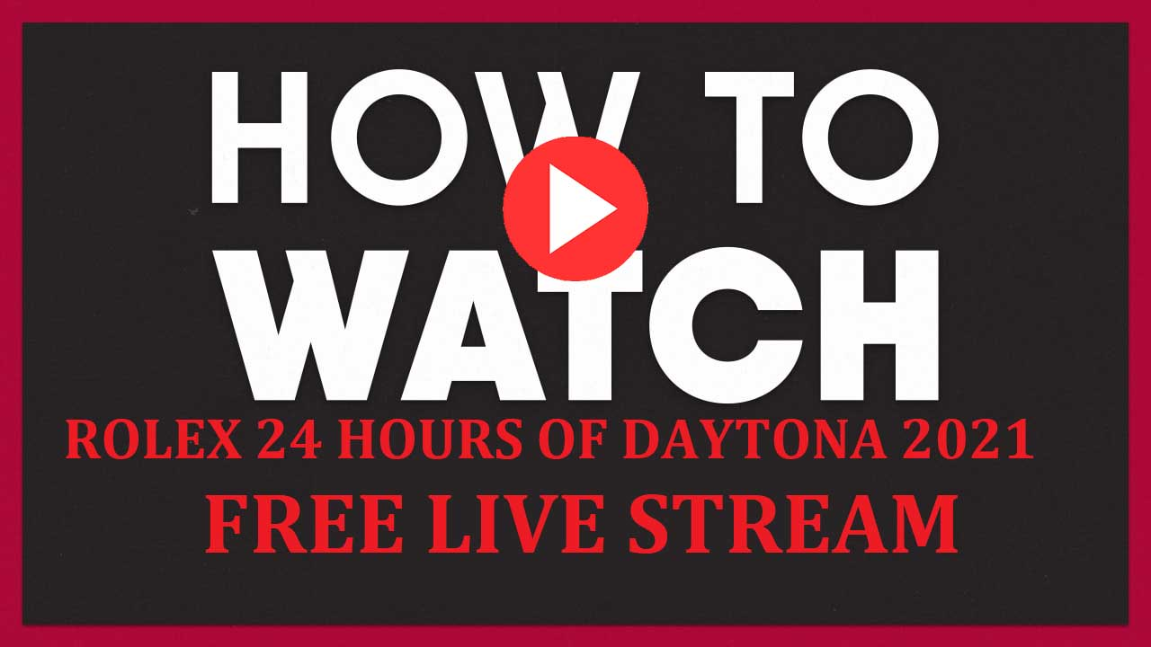 2021's 24 Hours of Daytona is here and in full swing. Catch all the action live by watching these live streams.