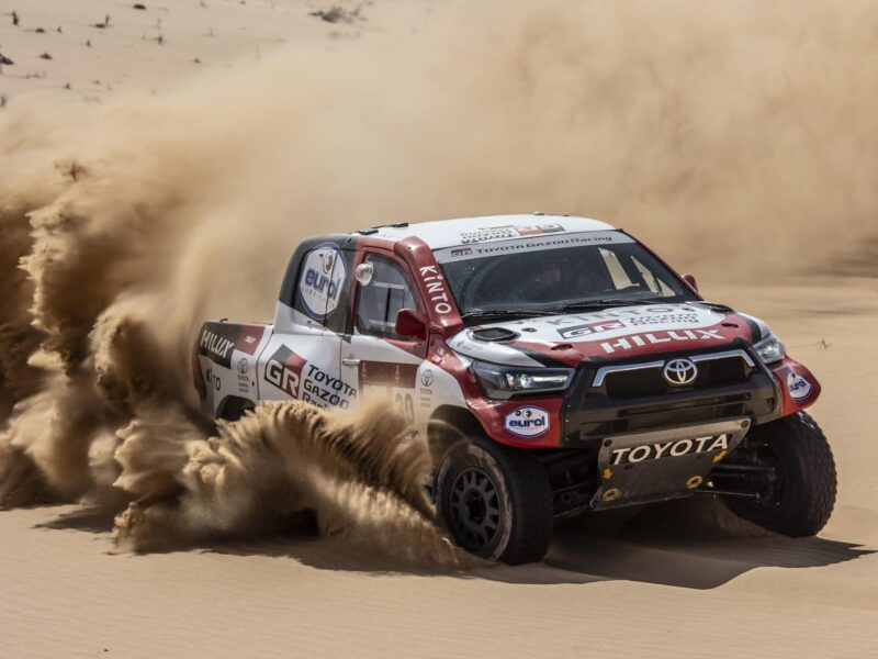 4,657 kilometers of hazardous off-roading, more than five hundred competitors, only one winner. Find out how to watch the big finale of the Dakar Rally!