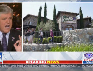 Twitter started circulating a statement from Olive Garden saying Fox News host Sean Hannity was banned. But is it a meme, or a real statement?