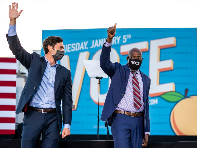With Jon Ossoff securing victory in Georgia, does Joe Biden have a narrow majority in the U.S. Senate? Dive into what the results mean here.