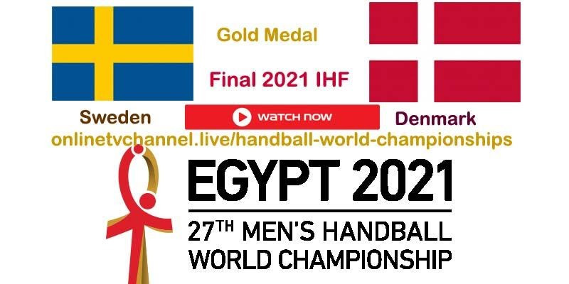 Are you ready to watch the handball final? Check out how to live stream the match between Sweden and Denmark right here.