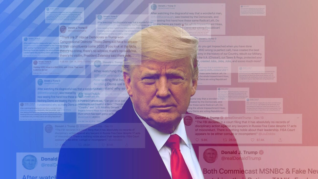How long is Donald Trump banned from Twitter? Delve into Trump's social media history and see where else he could be posting.