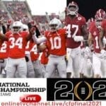 Alabama vs. Ohio State takes place tonight in the college football national championship. Check out the best places to stream this exciting game.