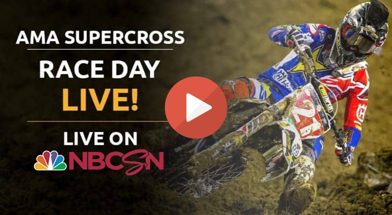 Check out these live streams of the 2021 AMA Supercross happening now in the US.