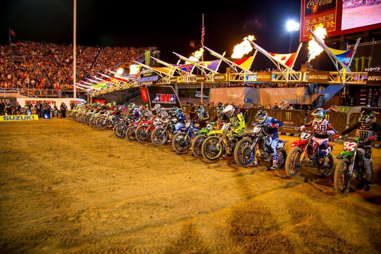 The 2021 AMA Supercross Championship is happening now. Check out where and how to watch this motocross event taking place from January to May.