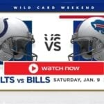 The Colts are set to take on the Bills for the AFC Wild Card. Find out how to live stream the game for free on Reddit.