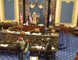 Protesters stormed and occupied the U.S. Capitol building today to disrupt the electoral confirmation process. Was security better in Area 51?