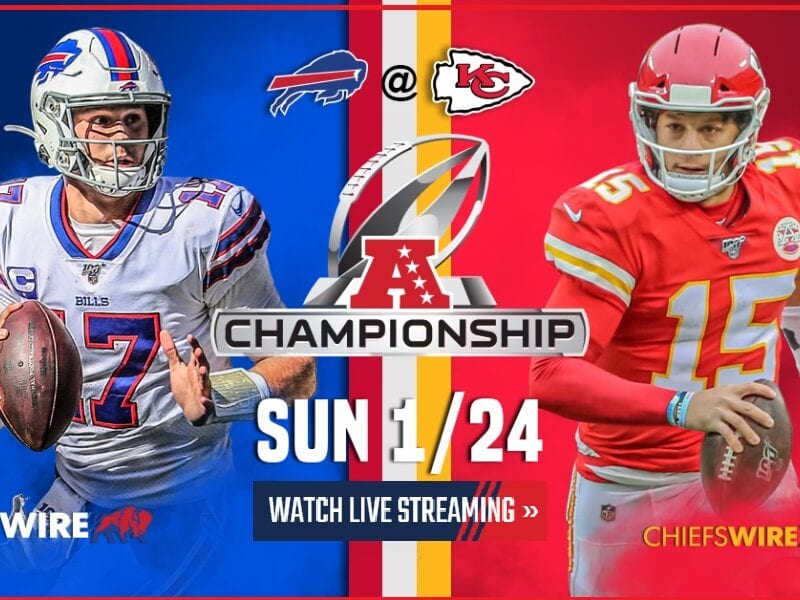 The AFC Championship game is here and we're ready to watch the NFL match. Here's how you can watch the Reddit live stream.