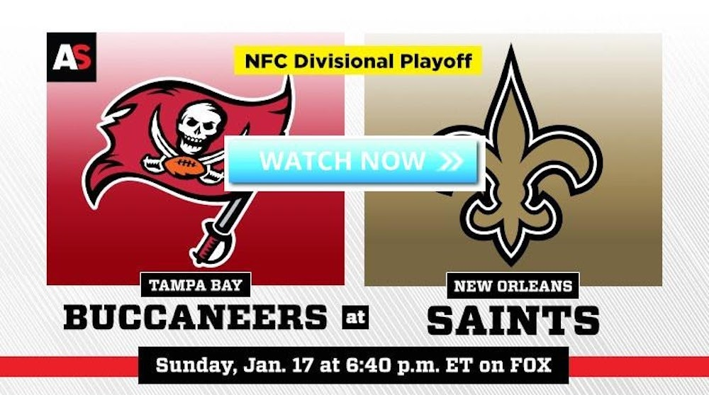 The Tampa Bay Buccaneers battle the New Orleans Saints in a Divisional Round playoff game. Check out the live stream on Reddit.