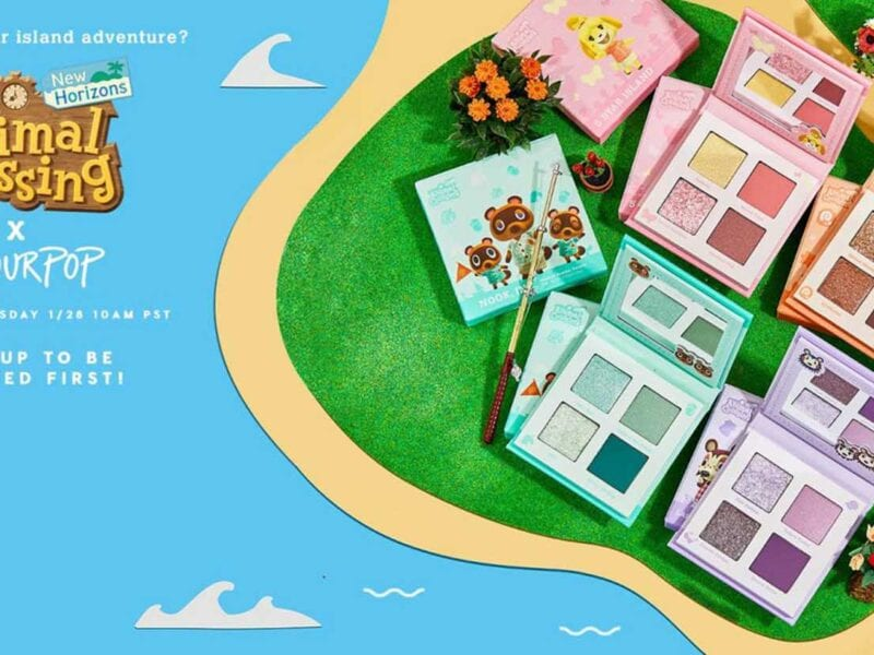 Get your ideal Celeste, Isabelle, Labelle, and Nook lewk with the new ColourPop x 'Animal Crossing' palette. Check out the deets here.