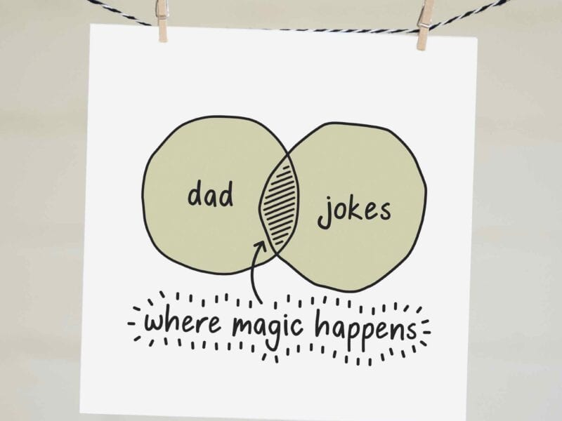 "A good dad joke is a real rare delicacy, emphasis on ""rare."" Here are a bunch of funny ones to cleanse your palette and tide you over for a while."