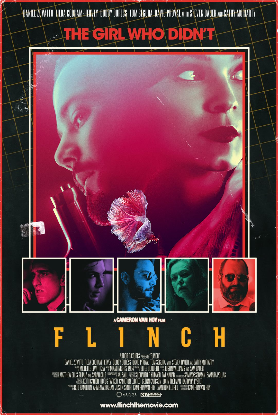 Cameron Van Hoy made his directorial debut with the stylish neo noir 'Flinch'. Learn more about Van Hoy and the film here.
