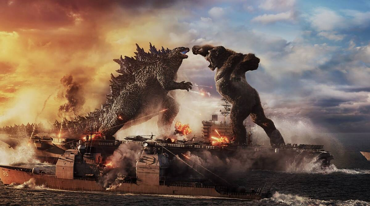 'Godzilla vs Kong' is here for audiences. Discover how to watch the epic monster movie online for free.