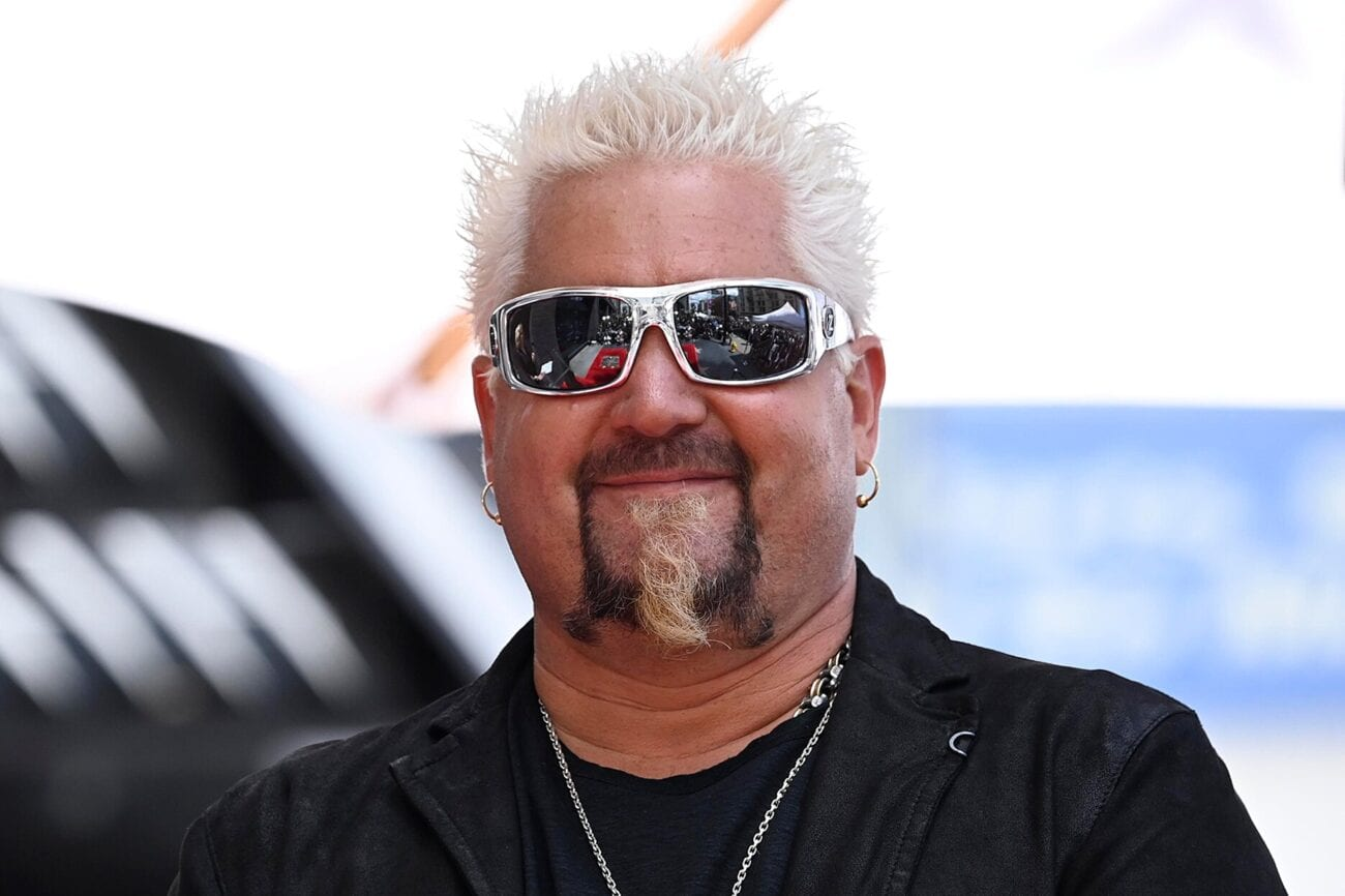 Spiked blonde hair & dirty flip flops never looked so cool. Discover King of Flavortown Guy Fieri's mysterious net worth.