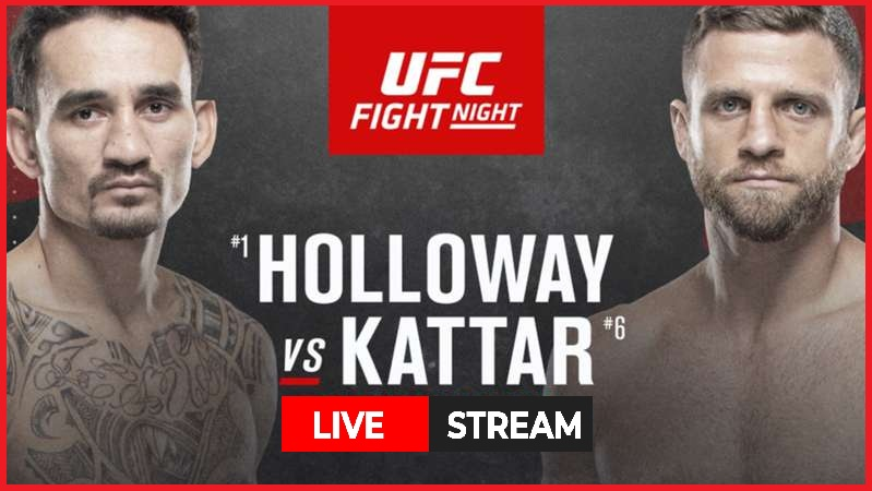 UFC Fight Night is Saturday with Max Holloway vs. Calvin Kattar as the main event. Check out the best ways to stream this fight in the octagon.
