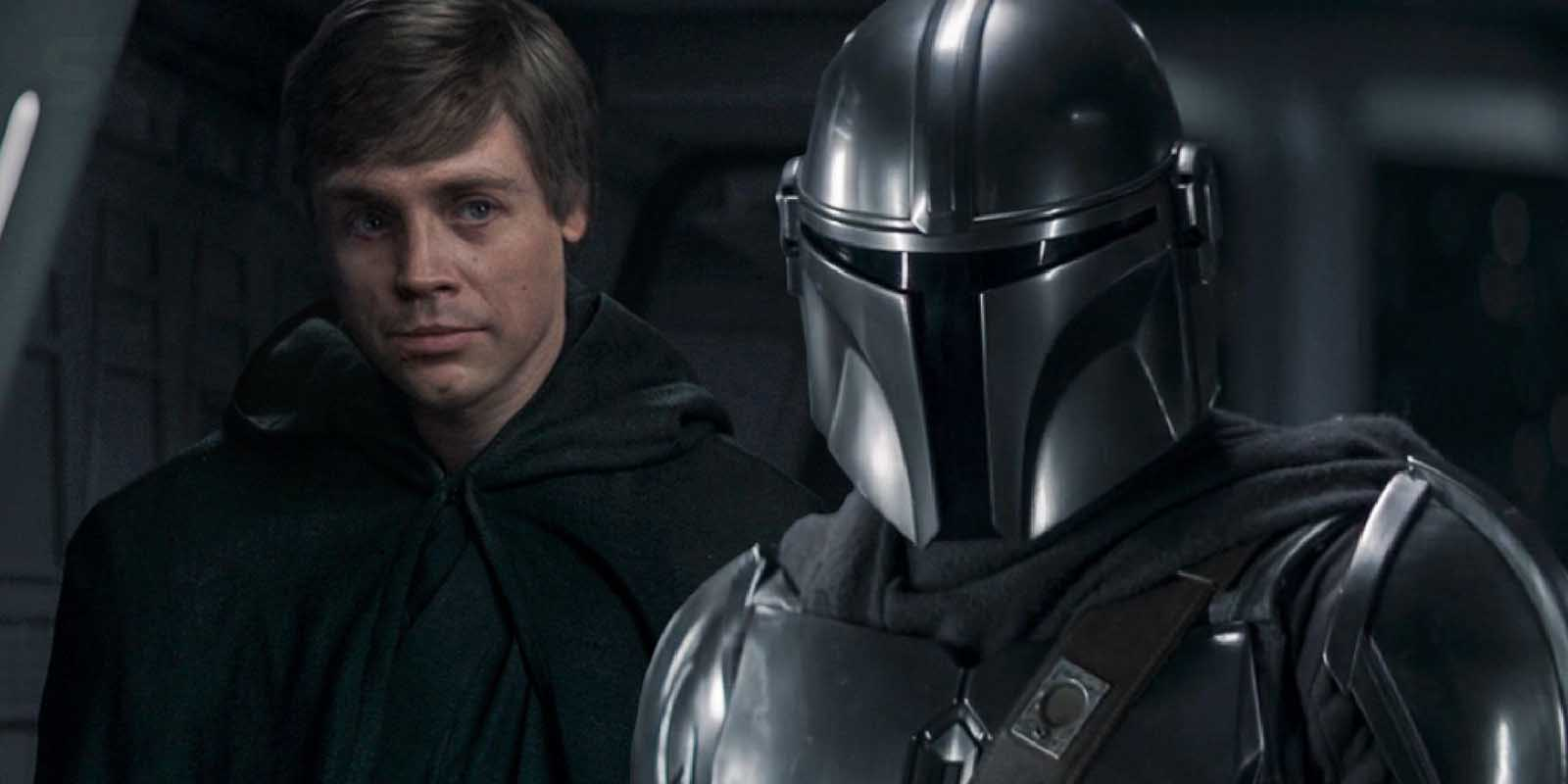 Fans were blown away by Luke Skywalker appearing in 'The Mandalorian' episode 8. But was it actually Mark Hamill? Go behind the scenes of the episode.
