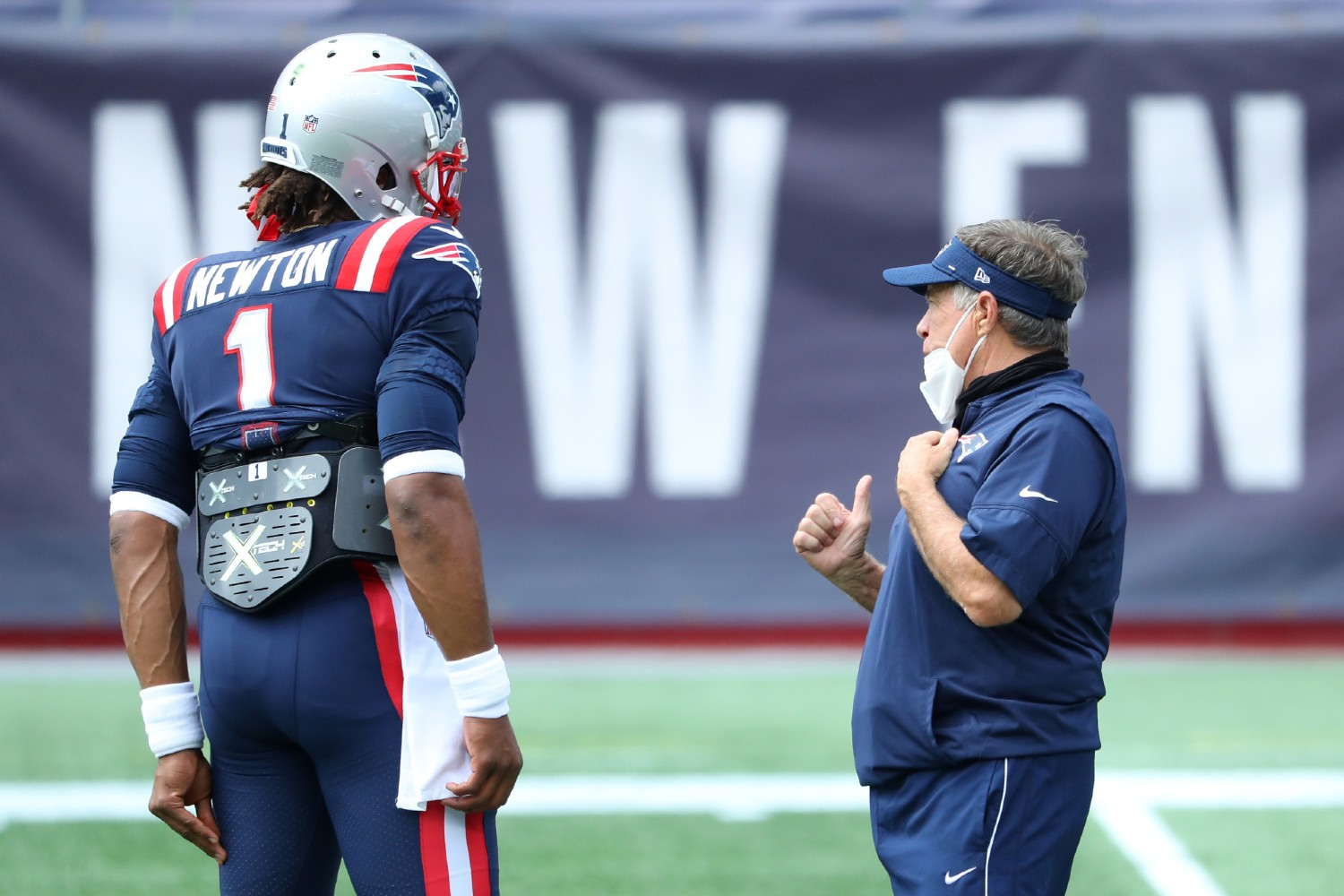 Newton not expected to return to Patriots