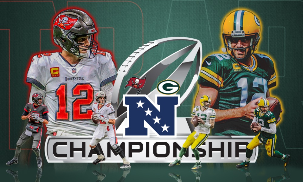 Welcome to Conference Championship Sunday! Our first matchup is just a few hours away. Watch the NFL live stream here.