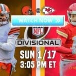 NFL's Browns vs Chiefs live stream will see Cleveland looking to repeat the good fortune from last week's history-making game. Watch on Reddit now!