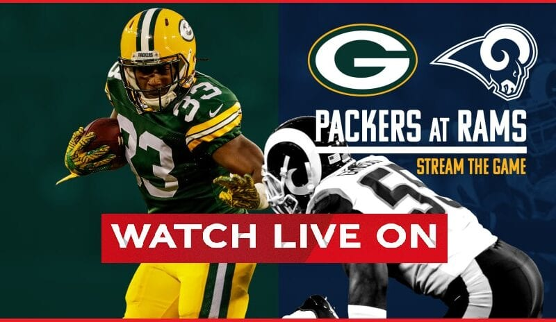Packers vs. Rams is taking place in the NFL playoffs this Saturday. Take a look at the best places to stream this exciting NFC matchup.