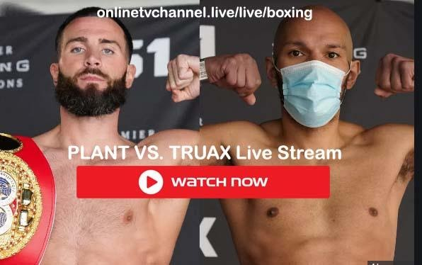 Plant vs Truax is the boxing match you need to catch tonight. Here's where you can live stream the entire match.