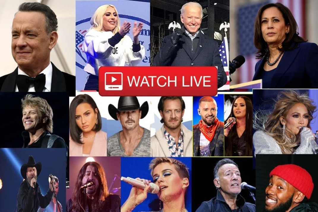 Joe Biden has been sworn in as president. Find out how to watch the Inaugural Day 2021 concert online.