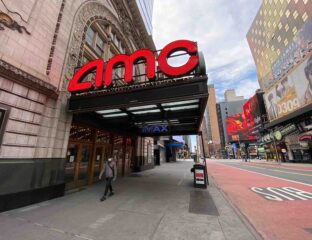 AMC theaters were in hot water thanks to the pandemic, but the hashtag #SaveAMC has made their stock price skyrocket. Here's how they did it.
