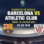 The Spanish Super Cup 2021 final Barcelona and Athletic Club game is going to be held on Sunday. Here's how you can watch the live stream.