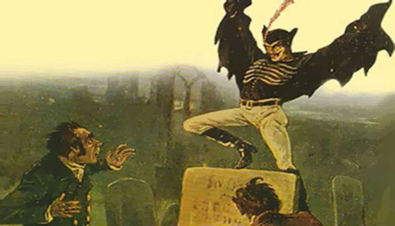 Itching for a new scary bedtime story? 19th century London has another one for you. Leap into the legend with us as we explore Spring Heeled Jack.