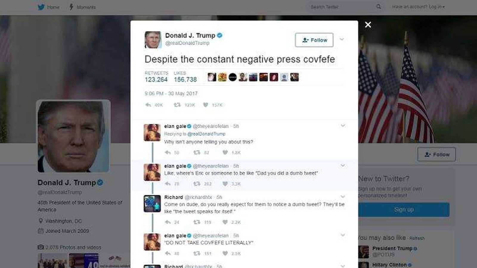 The day has finally come: Twitter banned Donald Trump from its platform. Reminisce on Trump's best tweets over the years.