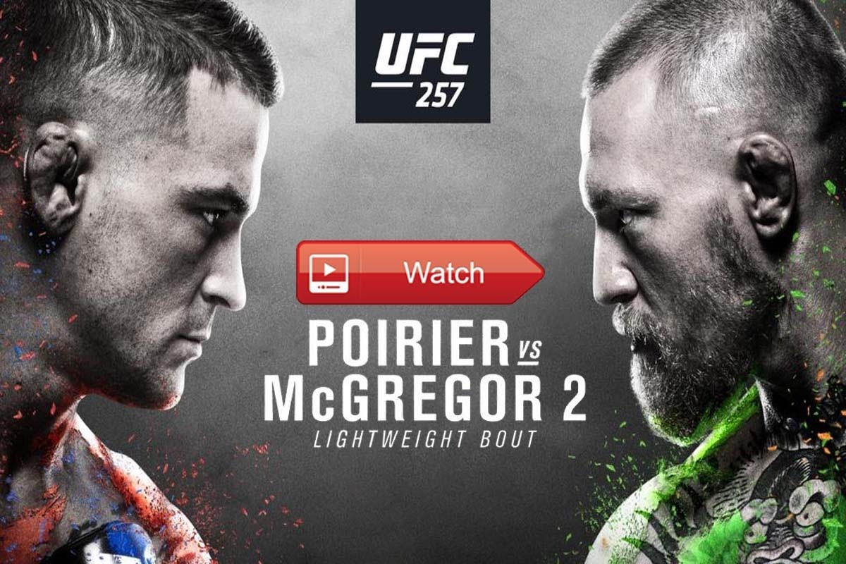 If you won't be near a television, you can catch a UFC 257: Poirier vs. McGregor 2 live on 23rd January 2021. Find out how to watch the live stream now.