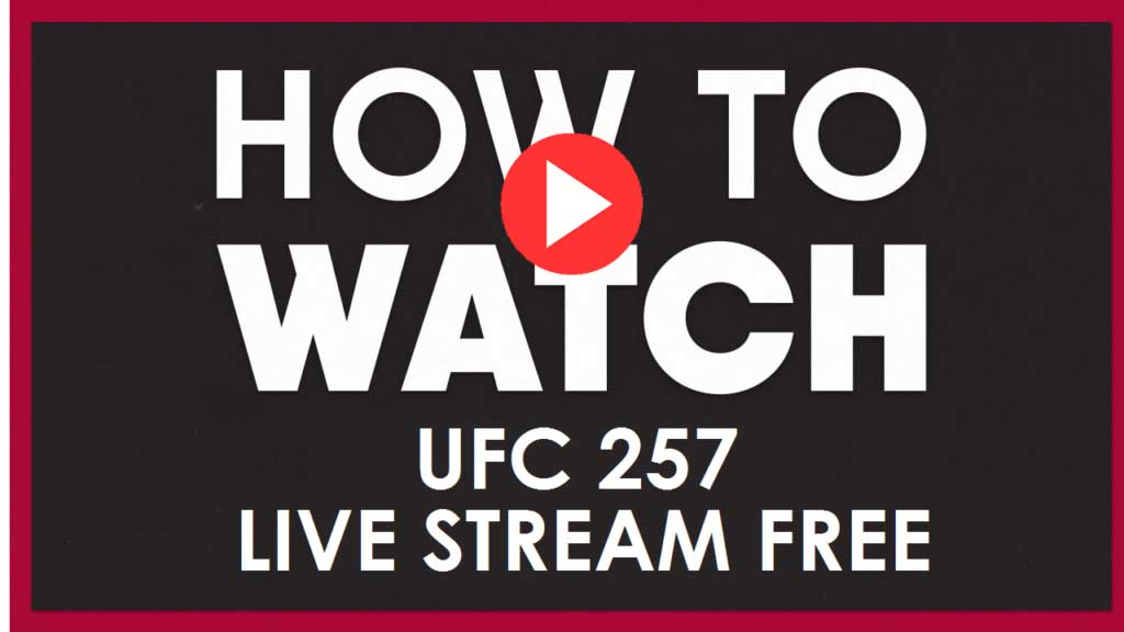 UFC 257 is here and ready to stream. Check out the entire fight card live by using one of these streams.