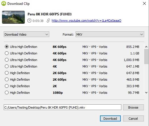 Need to download YouTube, Vimeo, and other online videos? Try out the 4k Video Downloader to make things a breeze.