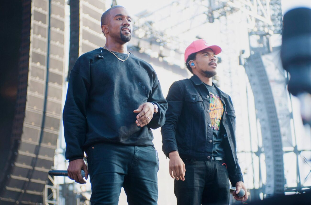 What could these two longtime friends be fighting about? Check out this leaked video of Kanye West & Chance the Rapper arguing here.