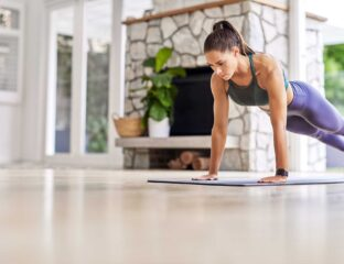 Did you make fitness your new year's resolution? Use these full body workout products at home to get in shape this year.