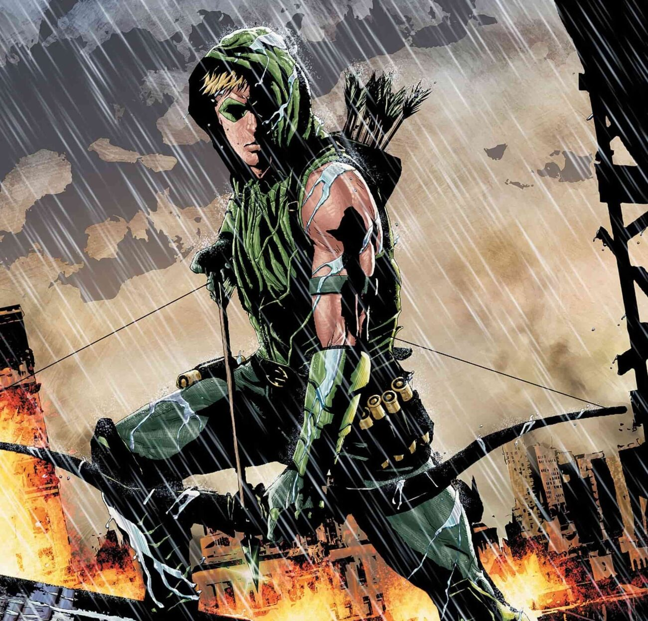 """Zack Snyder has promised a """"mind-blowing hero cameo"""" in his new 'Justice League' cut. Could it be the Green Arrow? Join us in looking at the evidence!"""