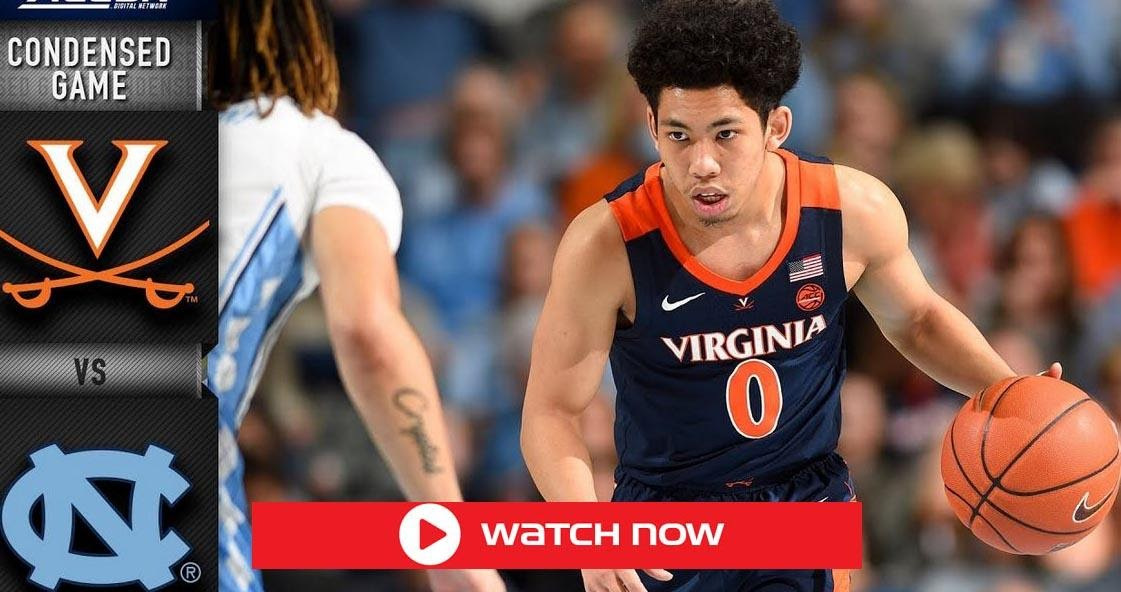 Looking for a way to watch Virginia take on North Carolina? Live stream the basketball game right here, right now!