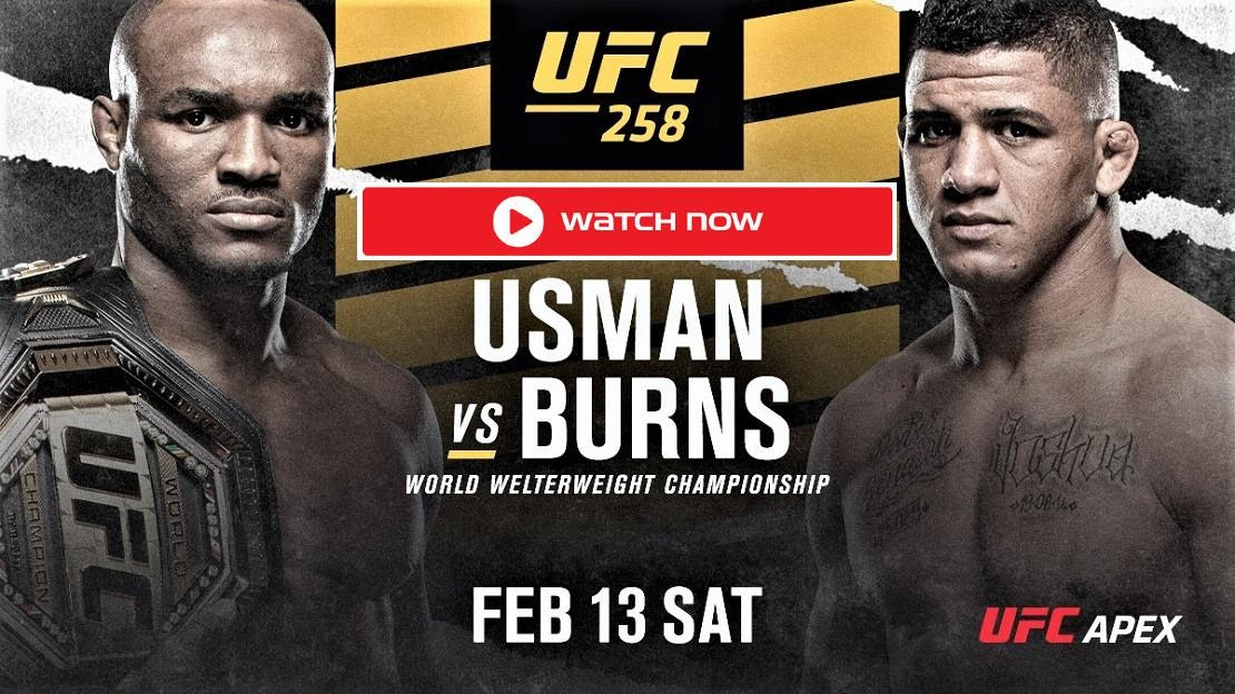 The UFC returns to Las Vegas for its second PPV of 2021. Live stream the matchup between Kamaru Usman and Gilbert Burns with these helpful hints!
