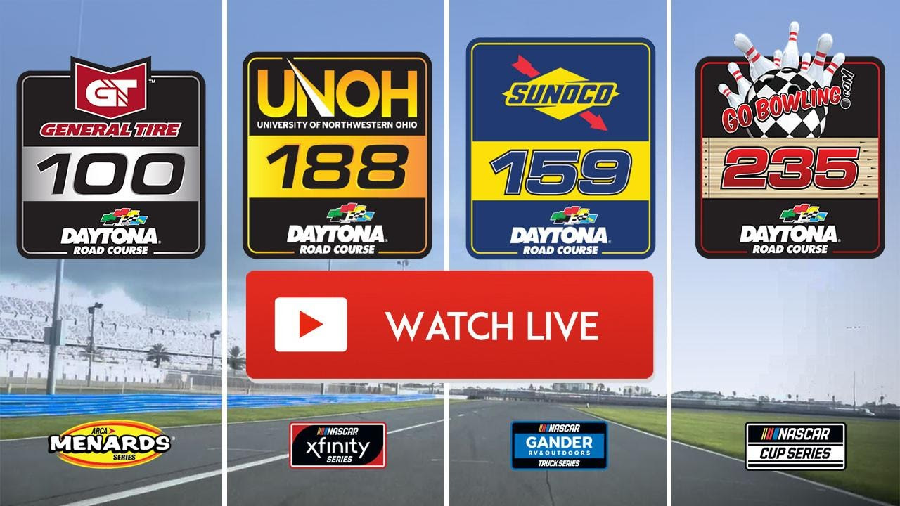 Don't miss the rest of the action at Daytona! Tune into the Daytona 101 live stream right here, right now, and from anywhere in the world!